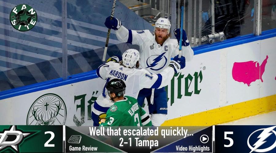 Dallas Stars vs Tampa Bay Lightning, Stanley Cup Final - Game 3