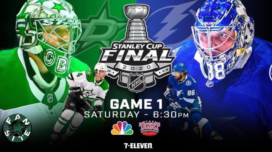 Dallas Stars vs Tampa Bay Lightning - Stanley Cup Final set