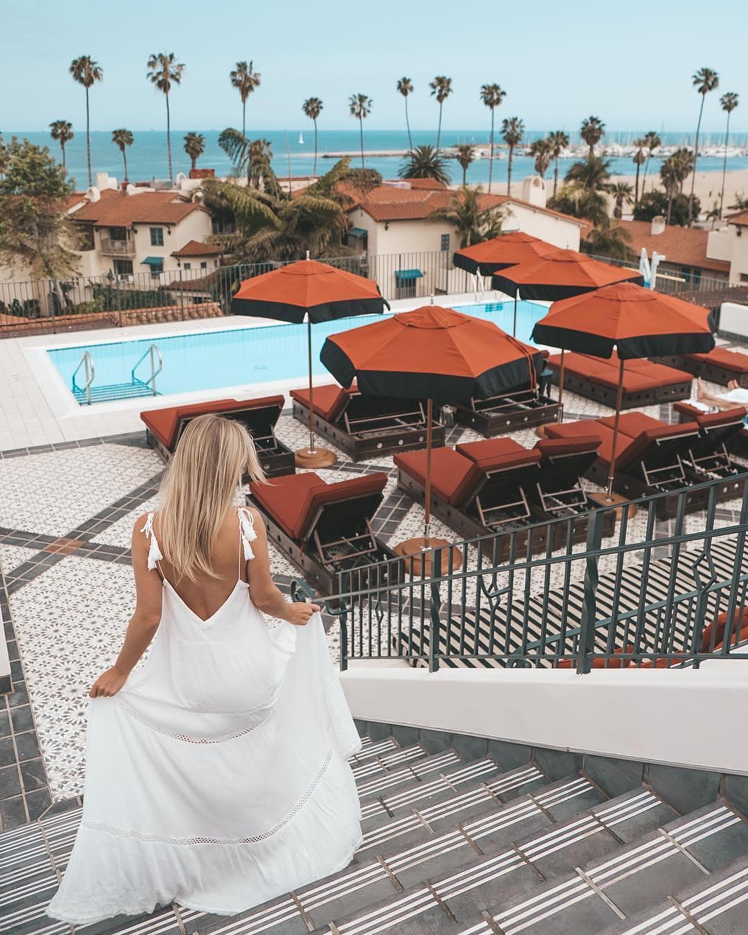 The Hotel Californian Santa Barbara Pool