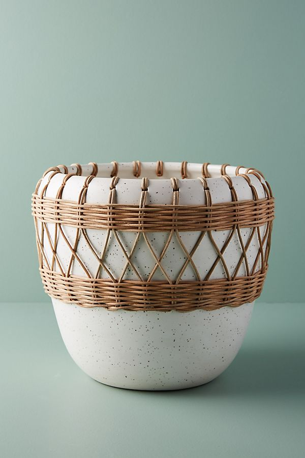 Bohemian Wrapped Planter