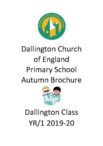 Dallington Class Autumn Brochure 2019