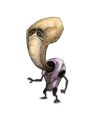 long head alien