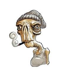 Smokin Alien