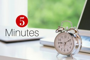 5 Minute Organizing Challenge: Time Management