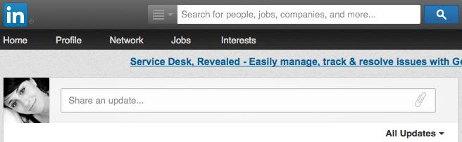 LinkedIn-Status-Update