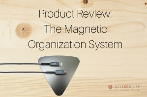 Organize Your Cables With the Magnetic Organization System (MOS)