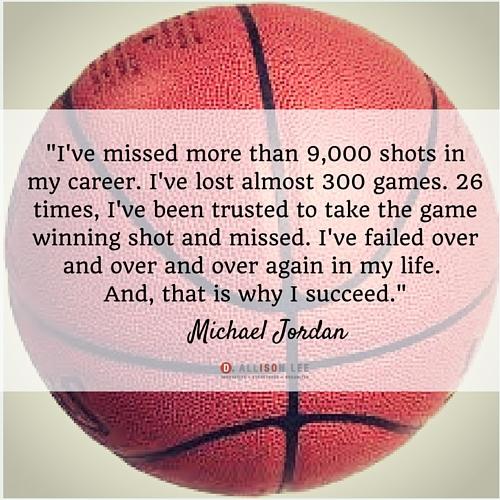 Michael Jordan's quotes are very inspiring for entrepreneurs.