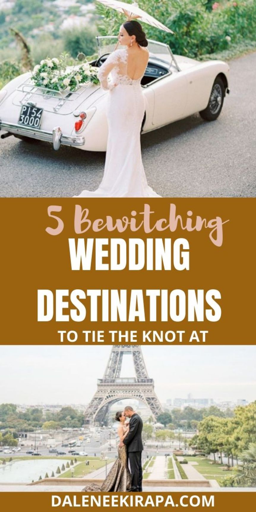 Tie The Knot In Style At Some Bewitching Wedding Destinations!