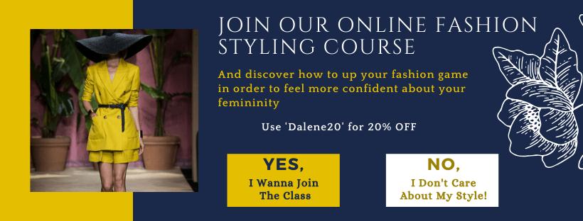Online ashion course
