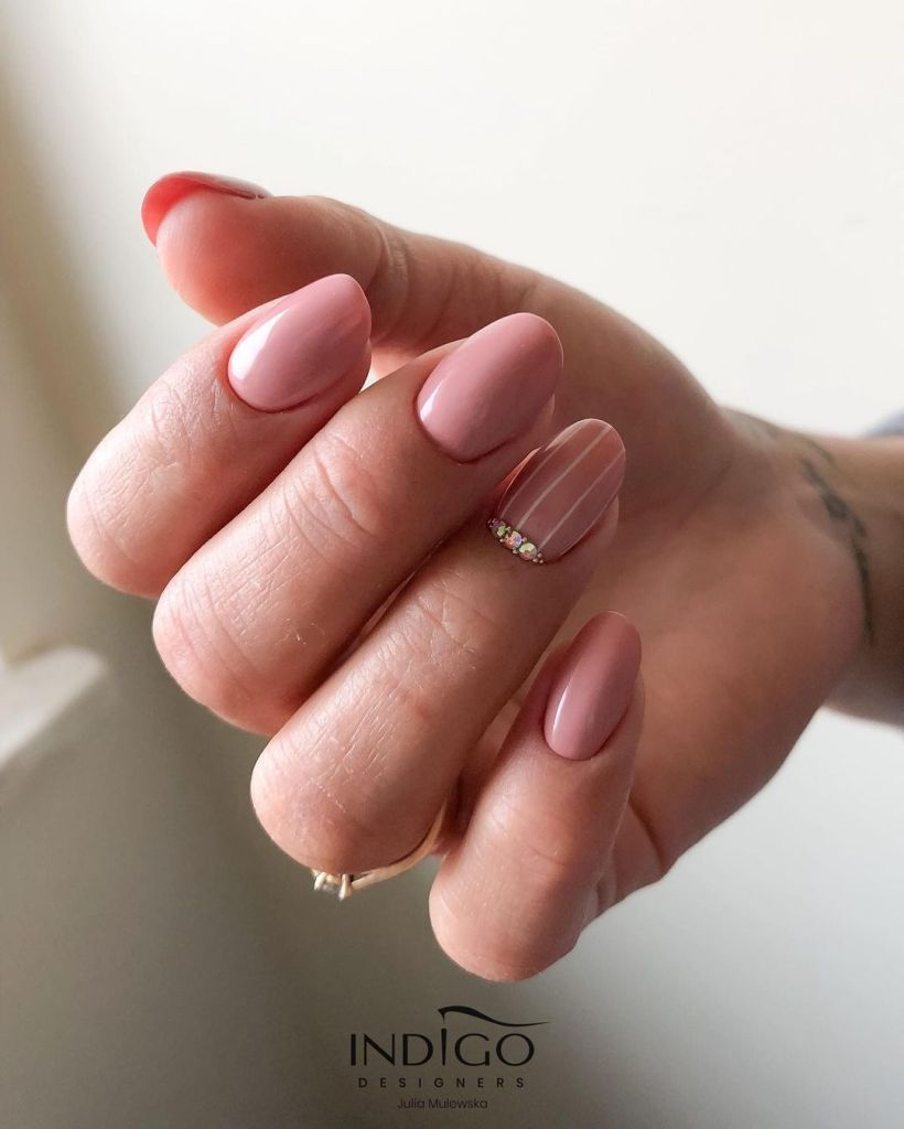 Beautiful Nude Nail Designs You Ought To Try
