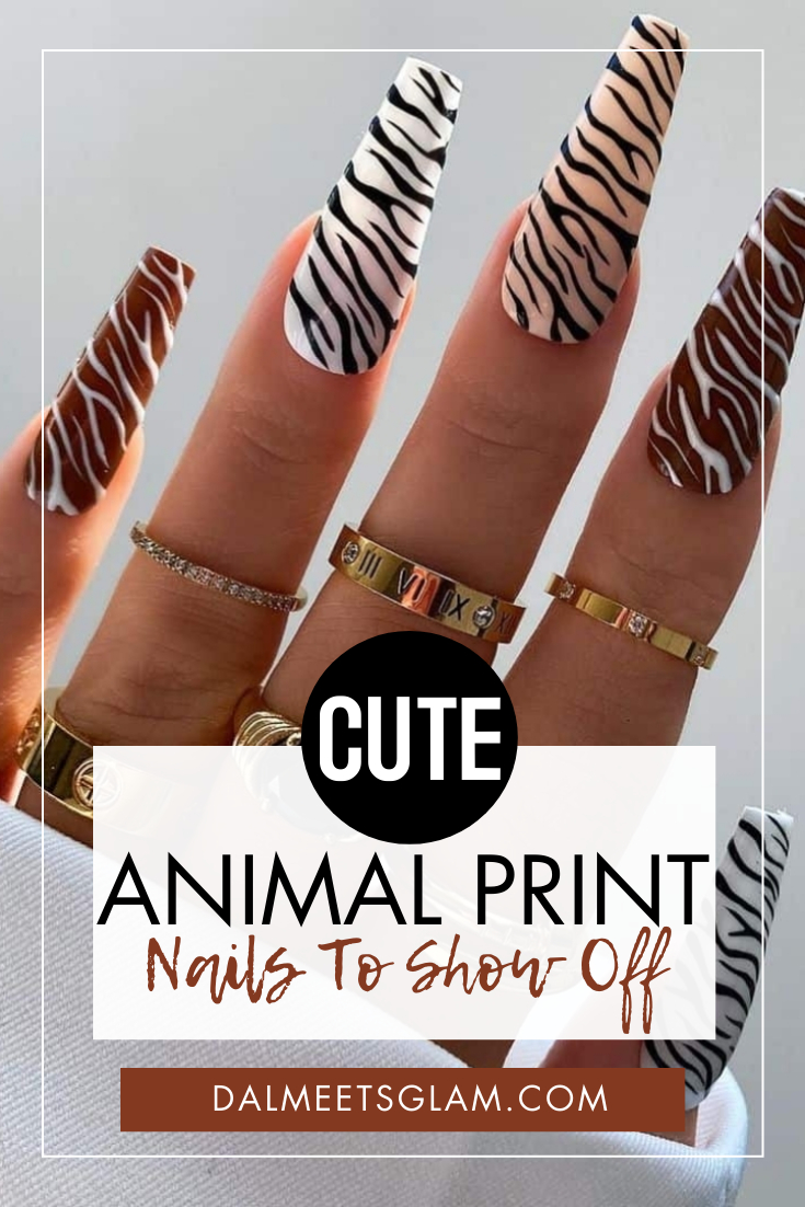 Animal Print Nails To Show Off Your Cute Wild Side