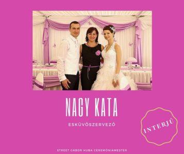 Nagy Kata - esküvőszervező (Kattints a képre és olvasd el az interjút!)
