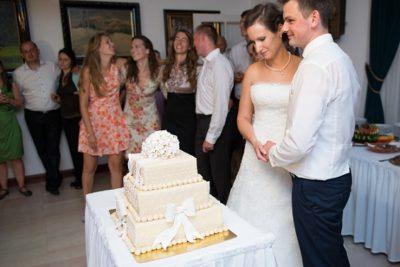 Esküvői torta és Kriszti és Boti (Göd)