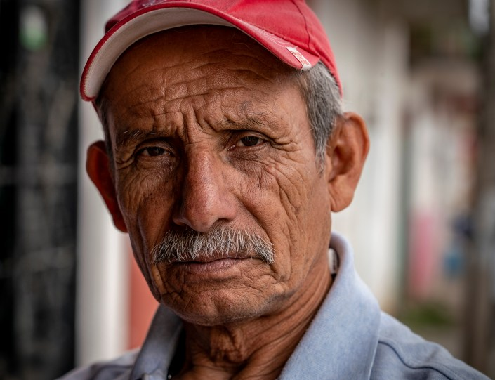 Old man, Mexico