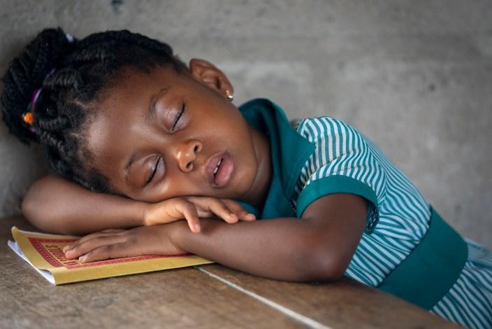 Sleeping Student, Ghana