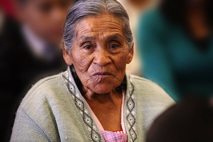 Old Woman, Mexico