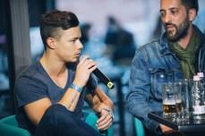 """""""Fontos, hogy egy dal felvétele előtt tisztázzuk, hogy kinek mi a feladata, hogy a dalbejelentéskor ez ne legyen vitás pont"""" - Diaz, producer (Hősök, Hien, Halott Pénz)"""
