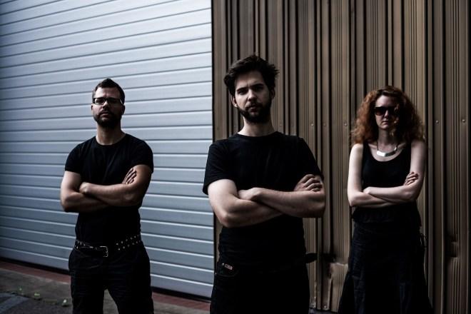 A ZHF szerkesztői:Tófalvy Tamás,, Krémer Tamás, Barna Emília. Fotó: Gyarmathy Ákos