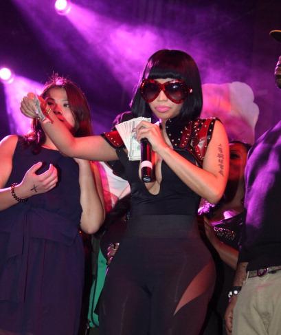 Nicki Minaj's Christmas Extravaganza