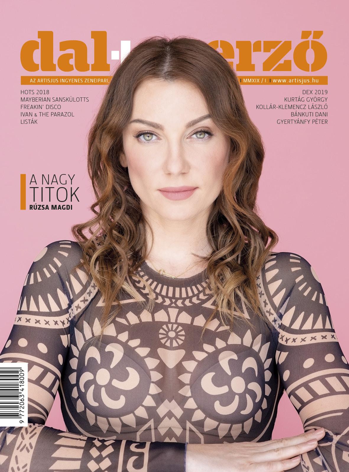 A Dalszerző Magazin 29. lapszáma. Címlapon: Rúzsa Magdolna