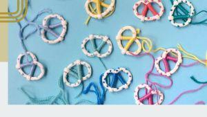 Handmade Pretzel Earrings
