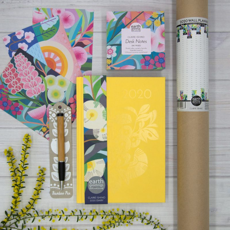 Earth Greetings Claire Ishino Planners