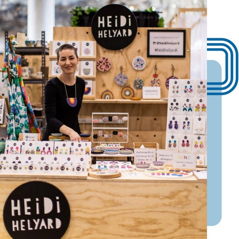 Heidi Helyard DBP Mentee at Finders Keepers