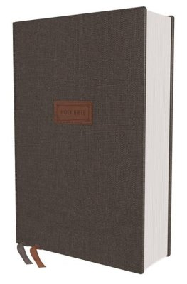 NIV Grace and Truth Study Bible, Comfort Print--hardcover cloth over board, gray