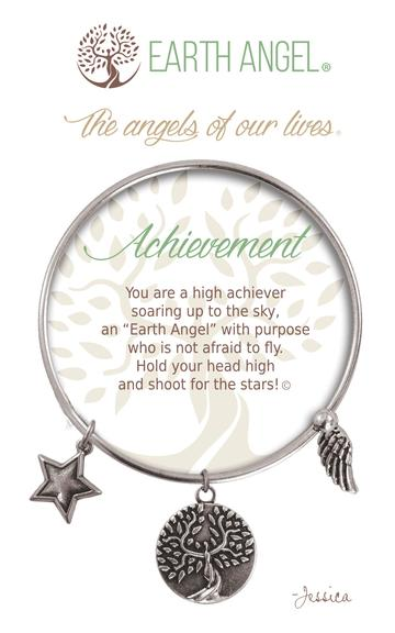 "Earth Angel Charm Bracelet ""Achievement"""