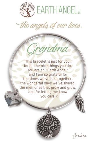 "Earth Angels Charm Bracelet ""Grandma"""