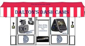 Dalton's Dash Cam and driving Accessories