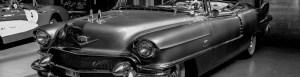 Cadillac black and white image dalton's dash cam and driving accessories