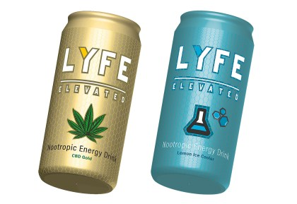 Vector-based 3D Models created and rendered by Dalya Kandil for LyfeElevated, a nootropic beverage company