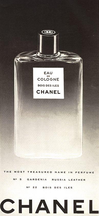 Chanel Bois des Iles vintage ad dalybeauty