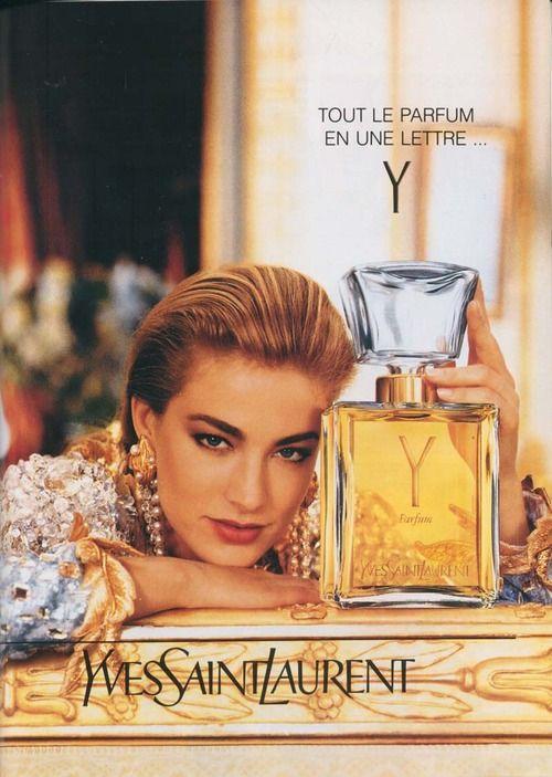 YSL Y perfume ad vintage dalybeauty
