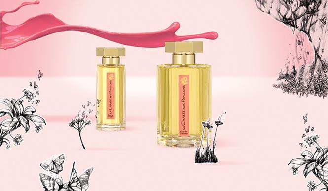 Describing L'Artisan Parfumeur La Chasse aux Papillons Perfume is like Chasing Butterflies