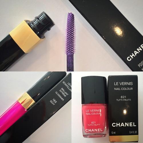 CHANEL summer 2014 makeup Reflets d'Ete