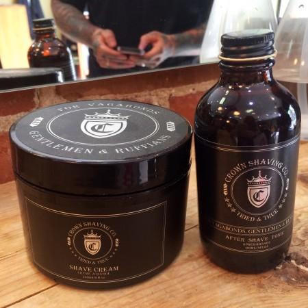 Crown Shaving Co Shaving Cream and Tonic