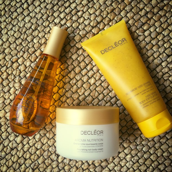 Decleor Aroma Nutrition cream oil scrub dalybeauty