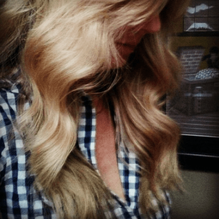 If only you could feel how soft & bouncy my hair is!