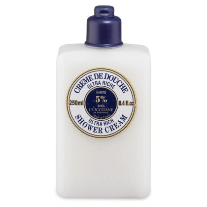 Loccitane shea butter ultra rich shower cream