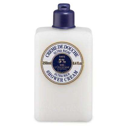 Loccitane shea butter ultra rich shower cream