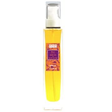 aftelier rose body oil hair elixir