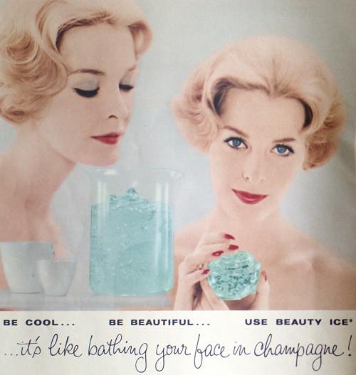 vintage beauty ad skincare