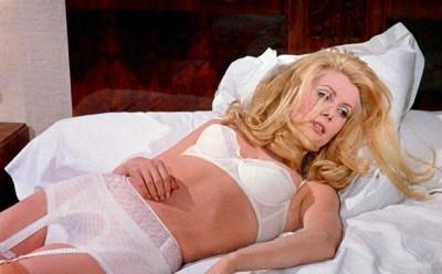 belle du jour bed scene lingerie