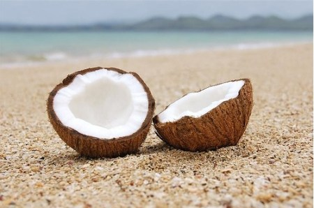 coconuts-on-beach