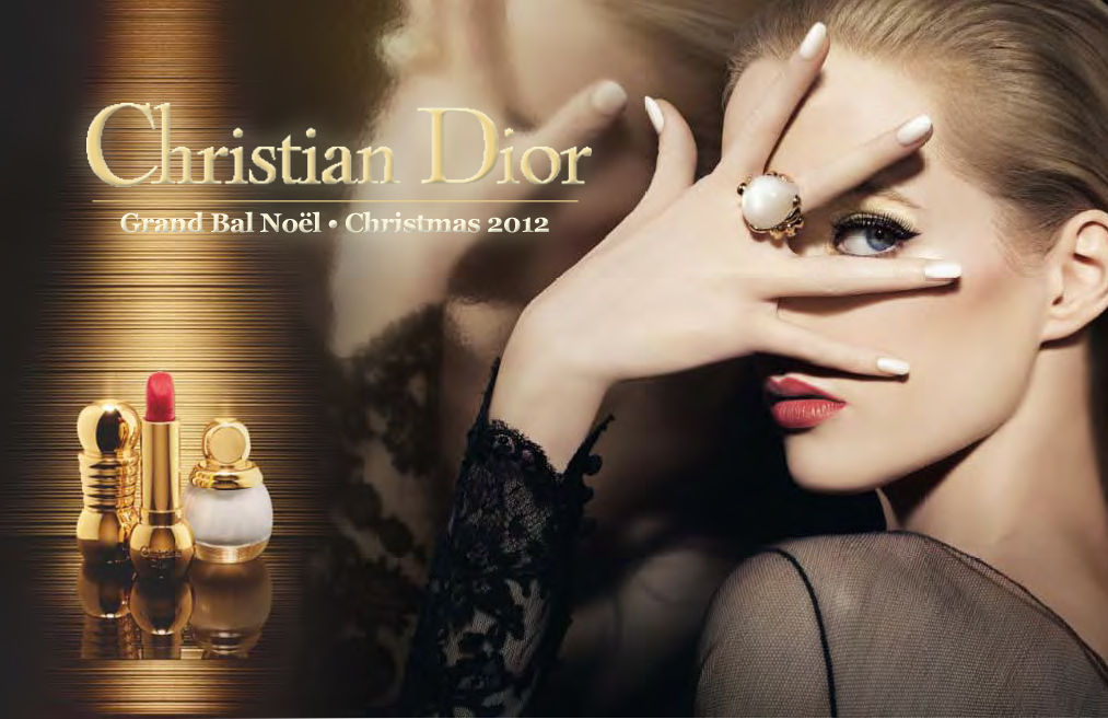 The Stunning Dior Grand Bal Holiday 2012 Vernis: Lady