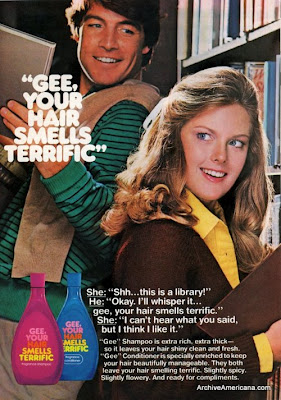 gee your hair smells terrific