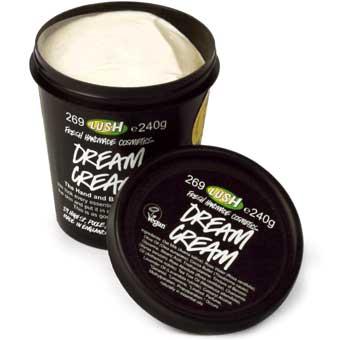 lush dream cream