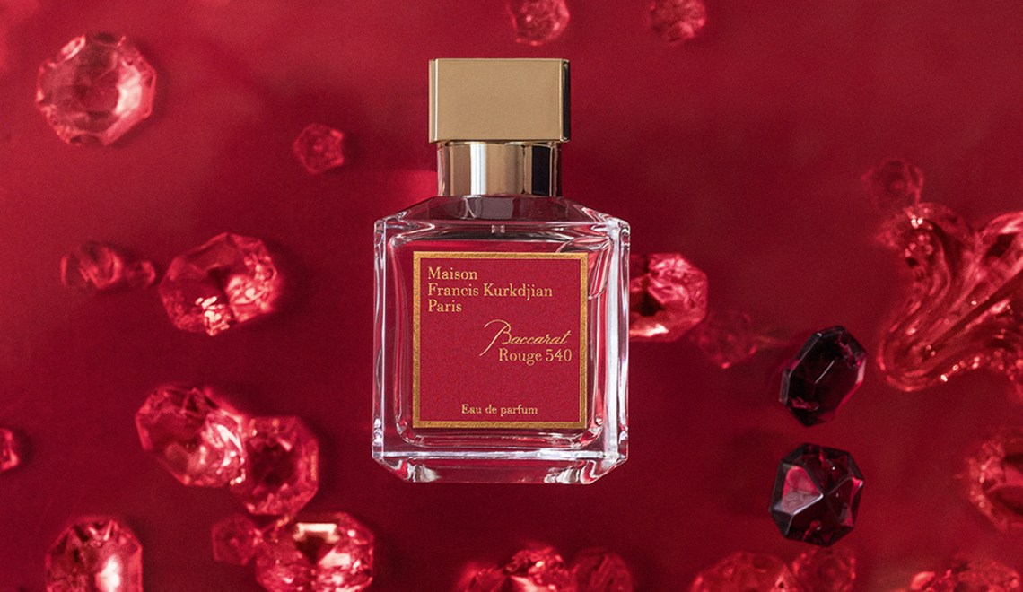 A Perfume That Kisses The Skin…. Maison Francis Kurkdjian Baccarat Rouge 540